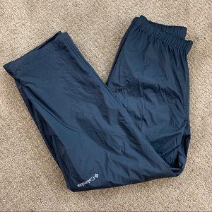 Columbia Men's Black Omni-Tech Pants Large